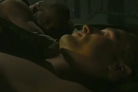 humongous pecker Army man gets A Great oral-jobl-service From hellos black Buddy