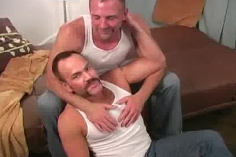 2 hot mature men