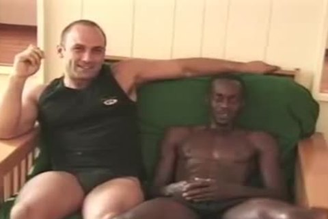 Interracial gay couple poke gay Porn gays gay ejaculations swallow stud Hunk