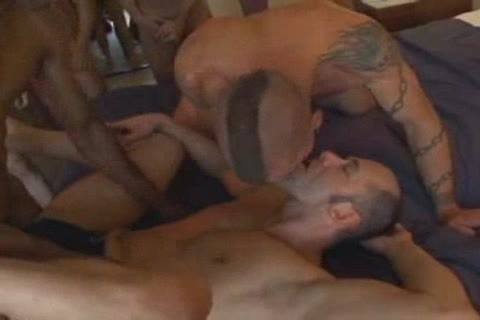 unprotected bunch group-sex