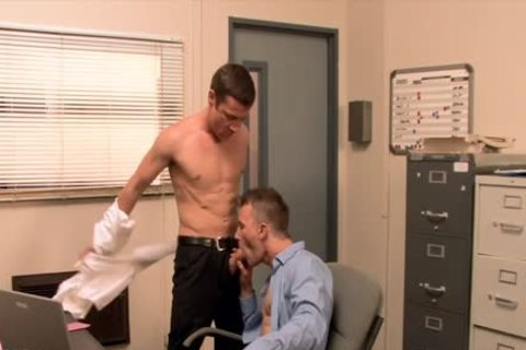 gorgeous homo gets butthole banged In The Office