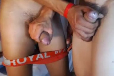 two handsome Romanian boys fuck, lusty Blowjobs And cum On web camera