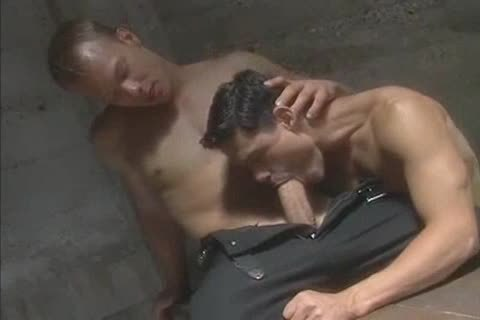 juicy ideal Muscle Blond gets Serviced
