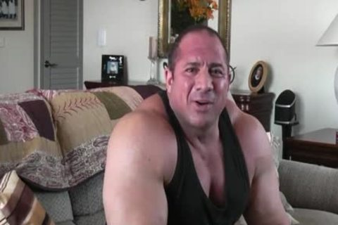 homo Powerlifter Tony Maxim Interview (no Sex)