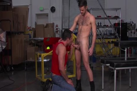 Ripped guys hole drilled