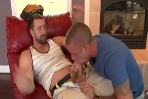 dick fellatio  Double shot