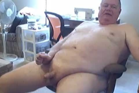 old man wank And cum On cam