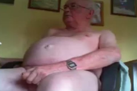 grandad lengthy stroke And Play On cam