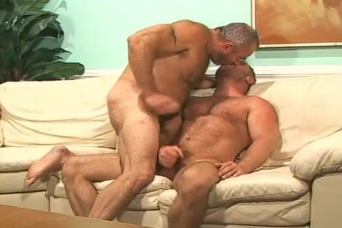 brunette Muscled lad gets pounded In His butthole