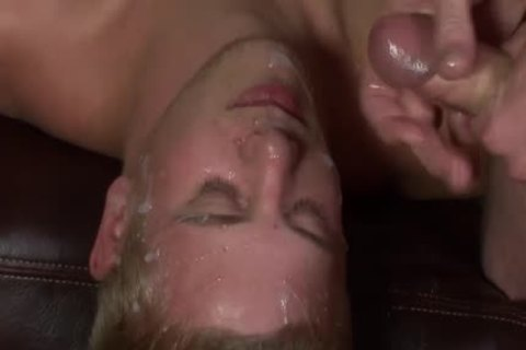 Getting His Boyfriend Shared With plenty of lewd men - Bukkake men