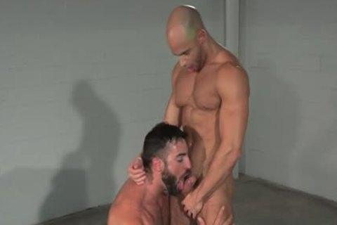 bushy homosexual anal job And cumshot