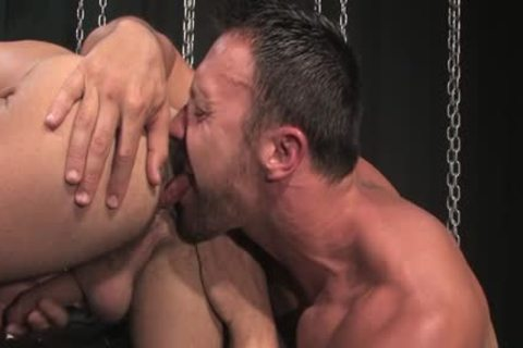 brunette hair wang oral enjoyment-service With Facial