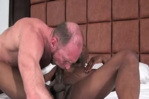 darksome Daddy bang White chubby