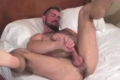 massive Bear Daddy Breeds taut butthole bunch-sex taut gap In Some nice Barebacking Session