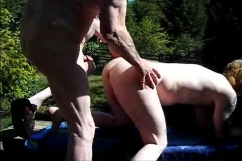 young Redhead bareback With old fellow