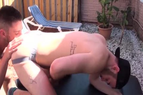 hairy Son anal arse nailing With cumshot