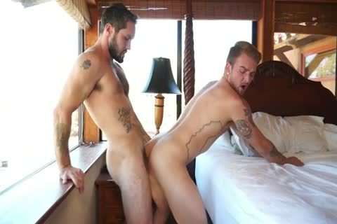 concupiscent guys pounding