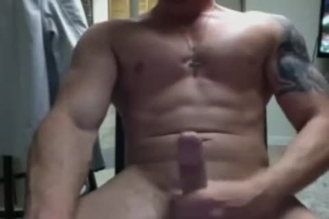 Hard penis And Hard Abs