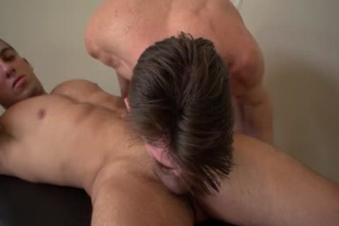 sexy gay oral sex stimulation With Massage