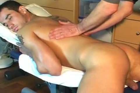 Frabice's throbbing ramrod Massage ! (delivery chap For A homosexual chap)