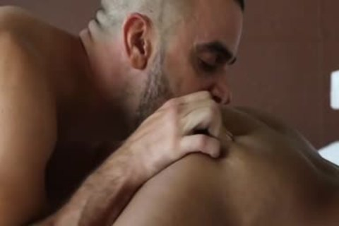 Muscle homo butthole job With Facial