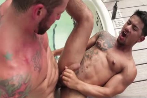 Tattoo gay anal sex With ejaculation