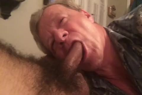 Fag Sucks BBC, Balls, anus, And Takes two cum facials