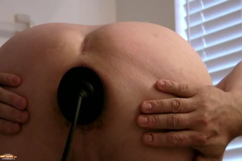 Sissy Kristen Gaping wazoo With big Buttplug   And Various toys
