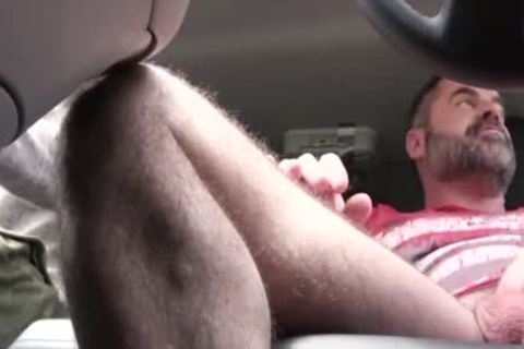 yummy dad plows His Step Son In A Car - FAMI