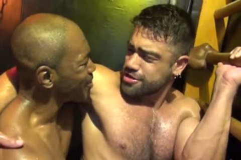Intense Sweaty Interracial unprotected Fucksex