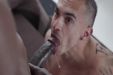 humongous dick gay butthole sex With Facial