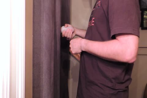 Straight 22 Year old With An 8 Inch Cut Trimmed penis Comes By My Gloryhole