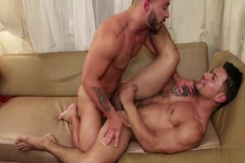 Latin homosexual Flip Flop And cumshot