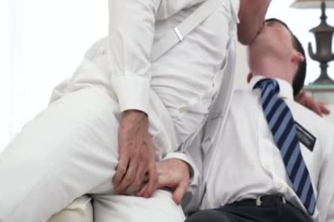 Ginger Bottom Passionately pounded raw By daddy Priest