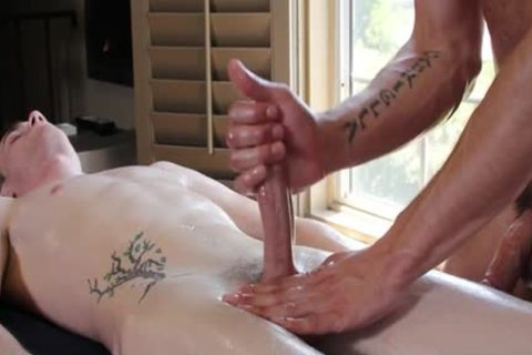 Muscle homosexual oral stimulation With Facial