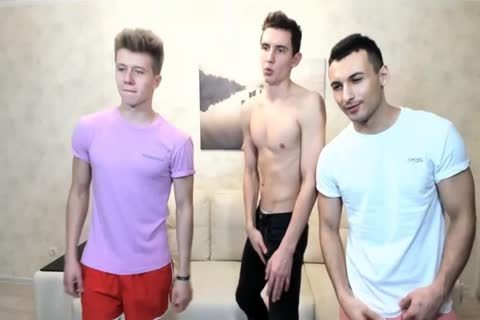 3 Russian gracious boyz With Great Round asses,admirable dicks On cam
