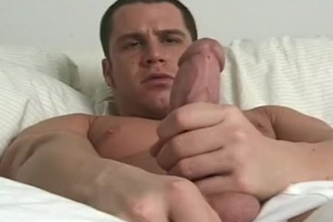Jack receiveting sleazy And Masturbating On bed