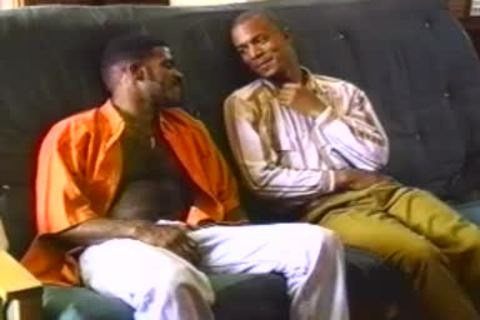 Two black boys boneing On Tthellos chab daybed