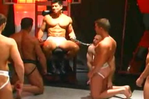 Muscle wang cock Fight