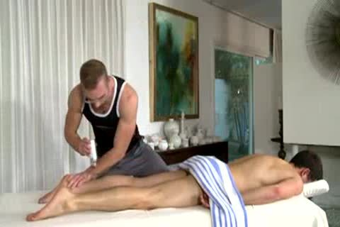 Dean Gives Dean A sleazy Massage