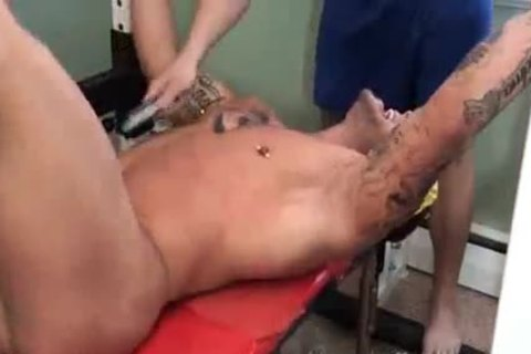 sleazy massive Muscle tied And Tickled - Ryan Skull