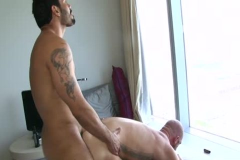 Two lusty homosexual men Make The most Of Their asses