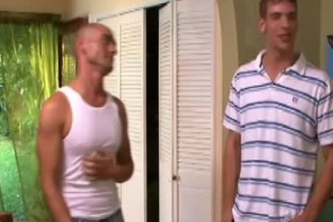 Excited homo acquires team-drilled And Cummed