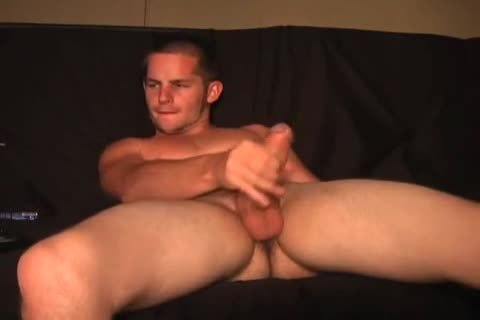 wanking guy gets handjob