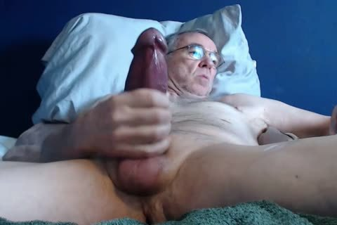 large 10-Pounder grand-dad lengthy jerk off On web camera (no sperm)