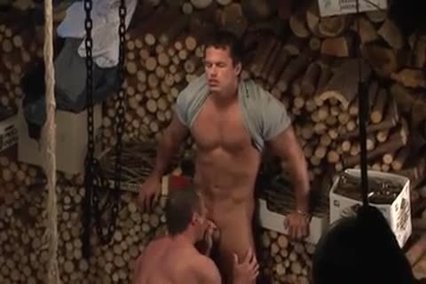 Hunks In The Woodstore