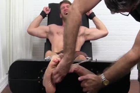 Colby Keller With A perfect Body gets A Foot And Toe Tickle