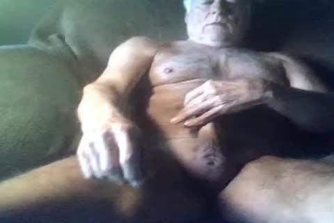 tasty grand-dad wank On cam (no cum)