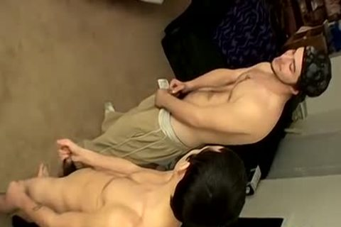 Three dudes Meet Up For A jerking off