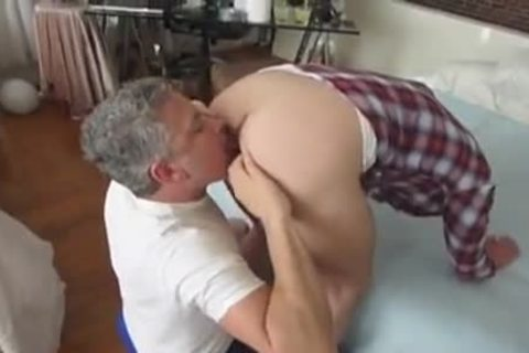 gigantic dick twink With His Daddies
